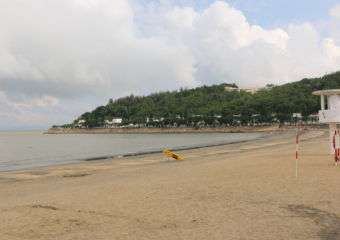 Hac Sa Beach in Coloane, Macau