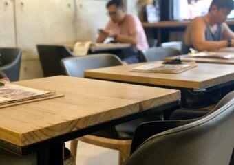 Cafe Voyage Seating Area indoor Blurred People Macau Lifestyle