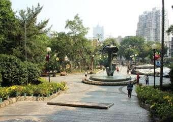 Camoes Garden in Macau