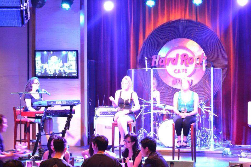Hard Rock Cafe's performers