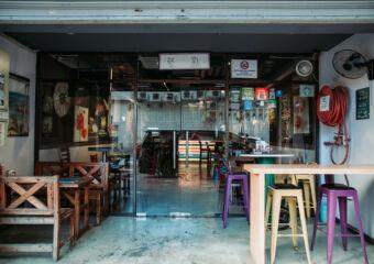 LAX Cafe Outdoor Area Macau Lifestyle
