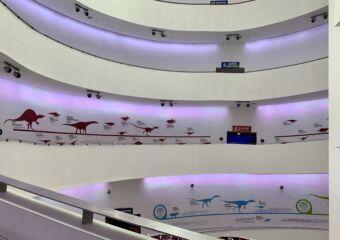 Macao Science Center floor aisles