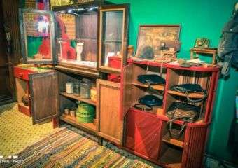Interiors of vintage shop