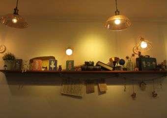 The Joy of Living Cafe interior