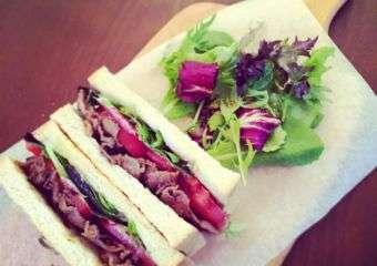 The Joy of Living Cafe  sandwich