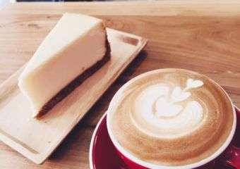 Wonderwall Coffee NY Cheesecake
