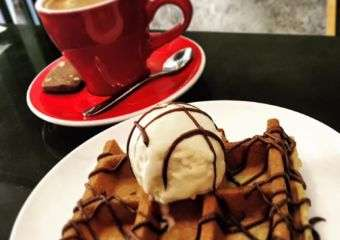 Wonderwall Coffee Waffle