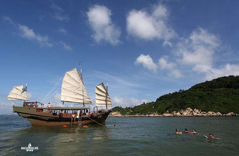 Experience Macau by Sailing on a Traditional Junk