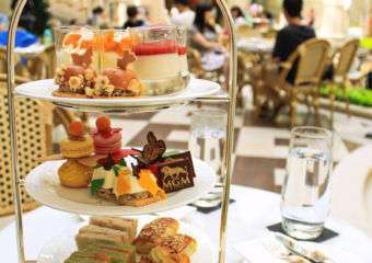 FUN Afternoon Tea Set at Aux Beaux Arts