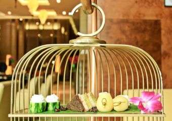 A Birdcage Afternoon Tea Set at Banyan Tree Macau