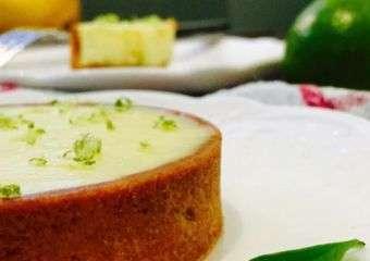 Cafe Bonbon Lemon Basil Tart