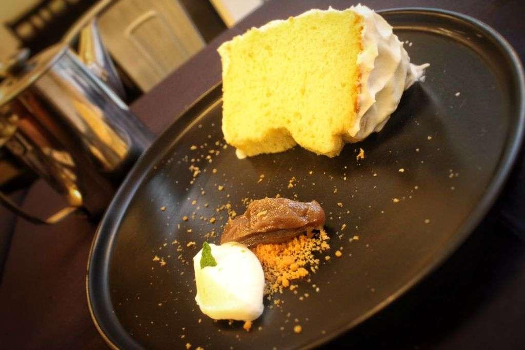 Maquette Chiffon Cake