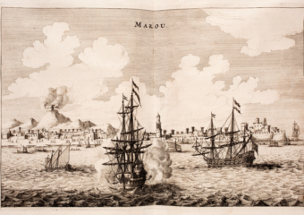 macau guide book dutch ships attacking macau waters 1665