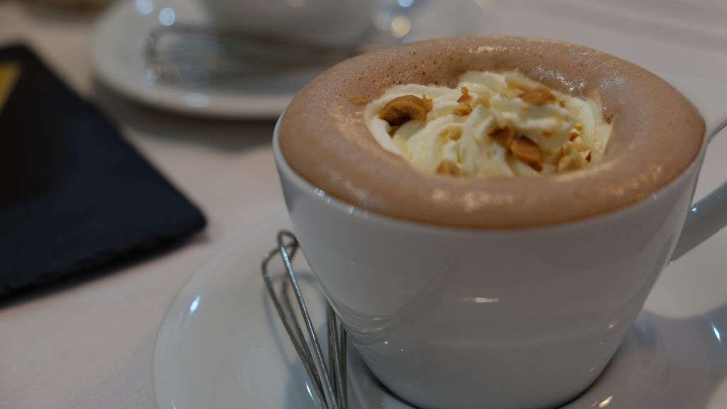 Cafe Bonbon Hazelnut Hot Chocolate
