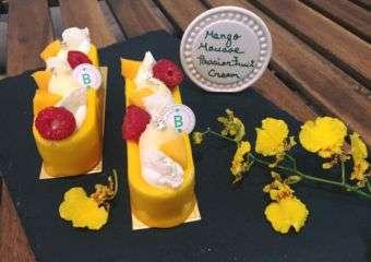 Cafe Bonbon Mango Mousse & Passion Fruit Cream