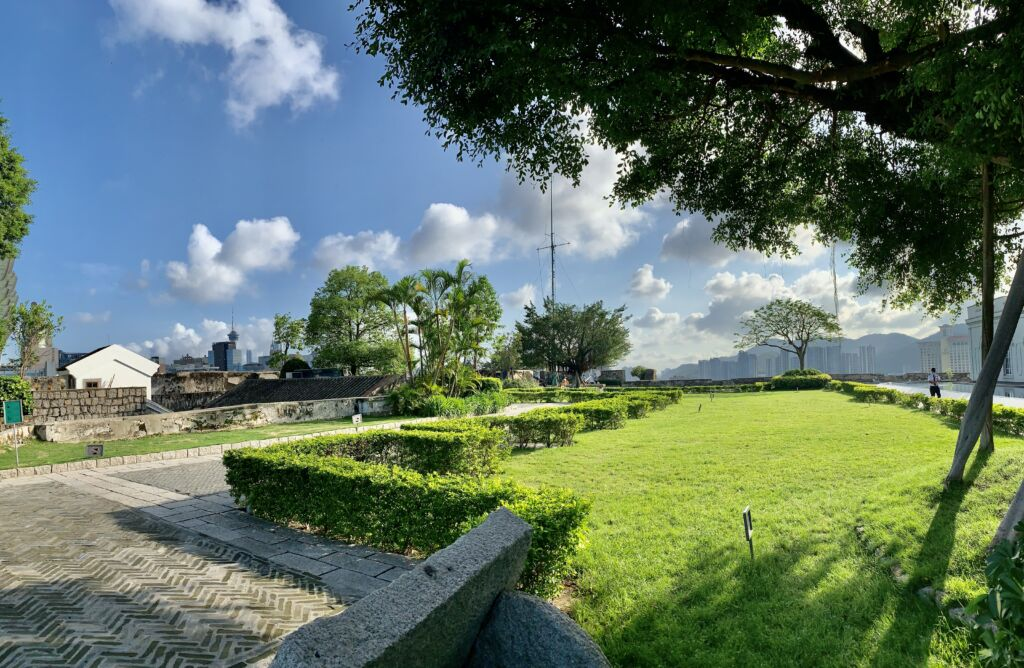Historic Centre of Macao Mount Fortress Gardens Outdoor Macau Lifestyle