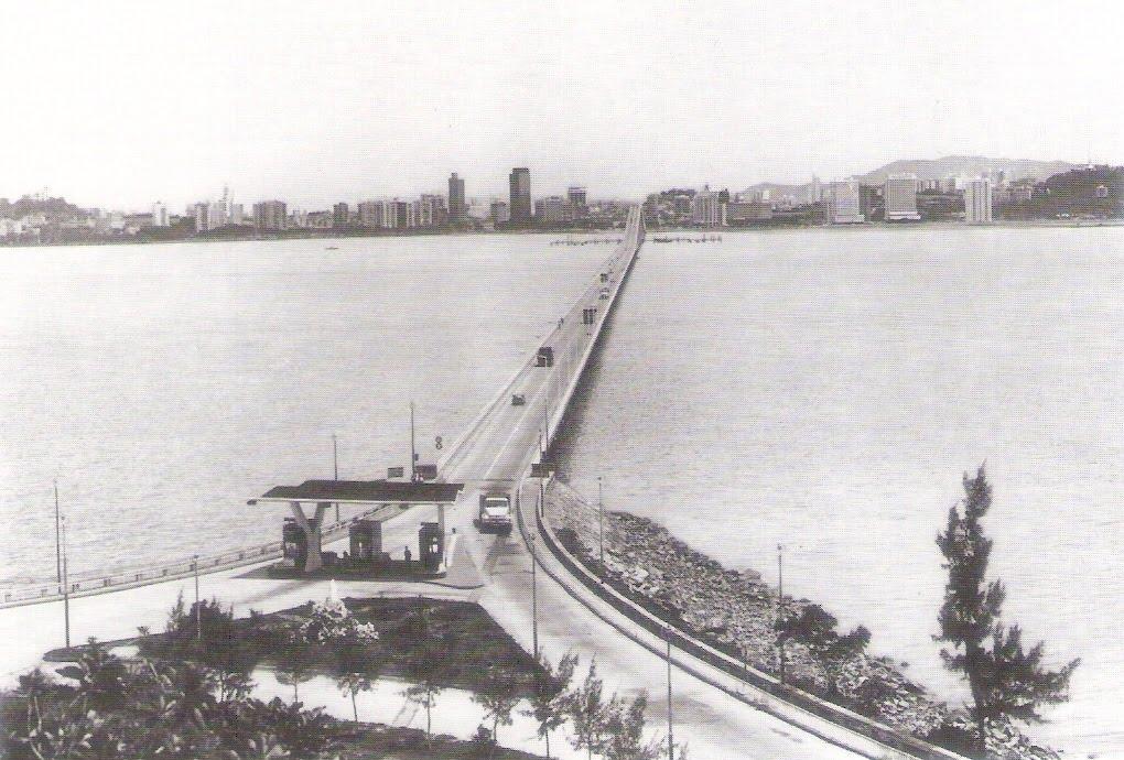 Nobre de Carvalho Bridge With Fee Collecting Station