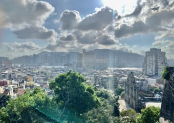 Panoramic from Mount Fortress Macau Lifestyle