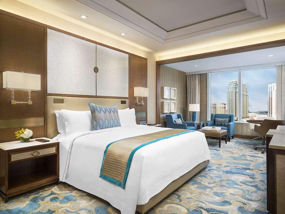 Guest room at The Regis Macao