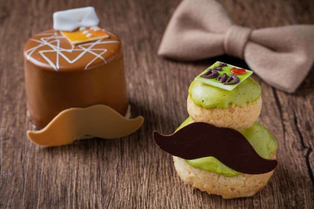 The pastry team crafted a range of themed pastries for Father's Day.
