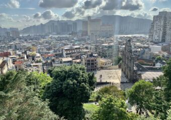 View from Mount Fortress at the Ruins of St Paul Macau Lifestyle
