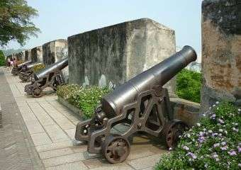 Mount Fortress cannon