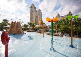 Galaxy Macau Pool Deck