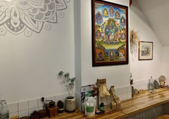 Chakra Space Indoor Buddhist Details Macau Lifestyle
