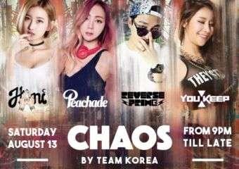 Chaos by Team Korea at Pacha Macau