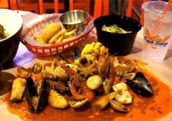 Crab Bang food