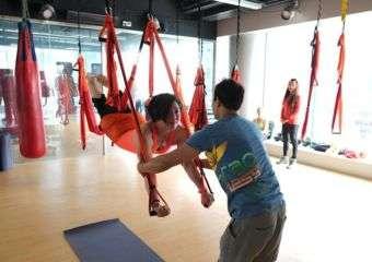 Macao Fitness aerial yoga