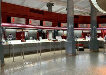 Macau Post Office Indoor Counters Macau Lifestyle