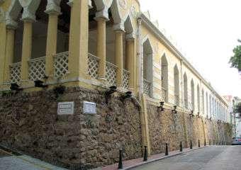 The Moorish Barracks in Barra, Macau