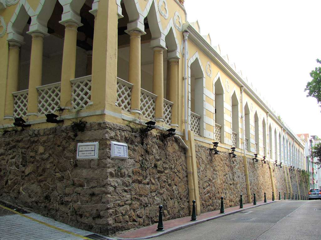 The Moorish Barracks in Barra, Macau