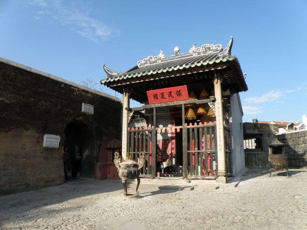 Historic Centre of Macao Na tcha temple