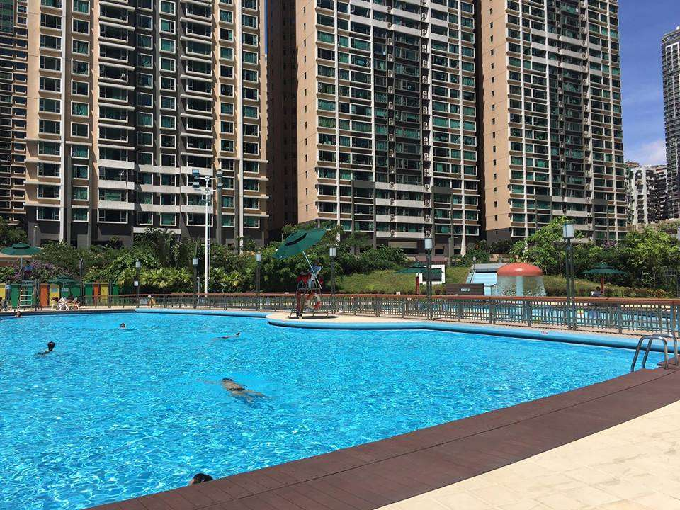 Taipa Central Park Outside Swimming Pool