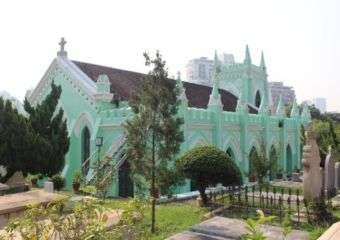 St. Michael's Chapel and Cemetery macau2