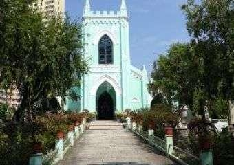 St. Michael's Chapel and Cemetery macau4