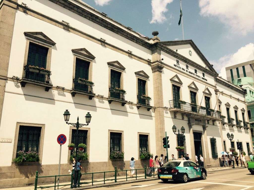 Senado Building in Macau