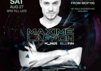 Maxime Laffon at Pacha Macau
