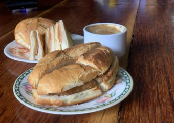 Pork Bun Sandwiches and Coffee from Hon Kee Cafe Macau Lifestyle