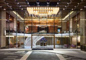 Entrance to The St. Regis Macao Macau green hotels