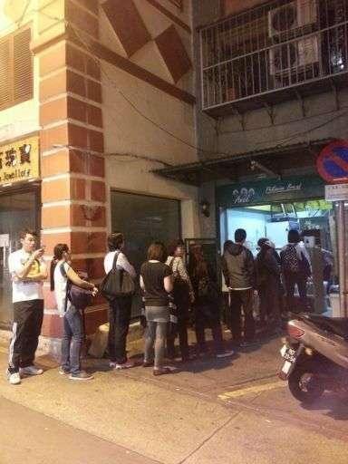 ANAK Philippine Bread queue