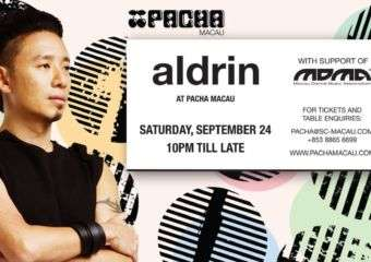 Aldrin at Pacha Macau