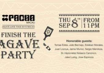 Finish the Agave Party at Pacha Macau