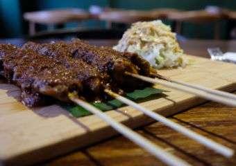 Naughty Nuri Chicken Satay Sticks