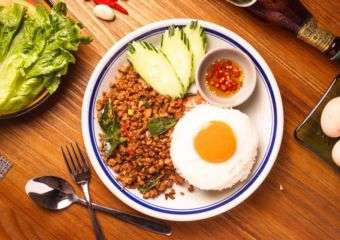 Papermoon Minced Pork fried egg