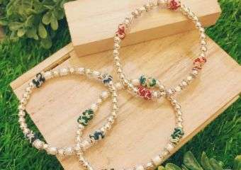 Beautiful pearl bracelets