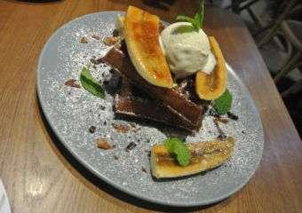 Cafe Marlette waffle