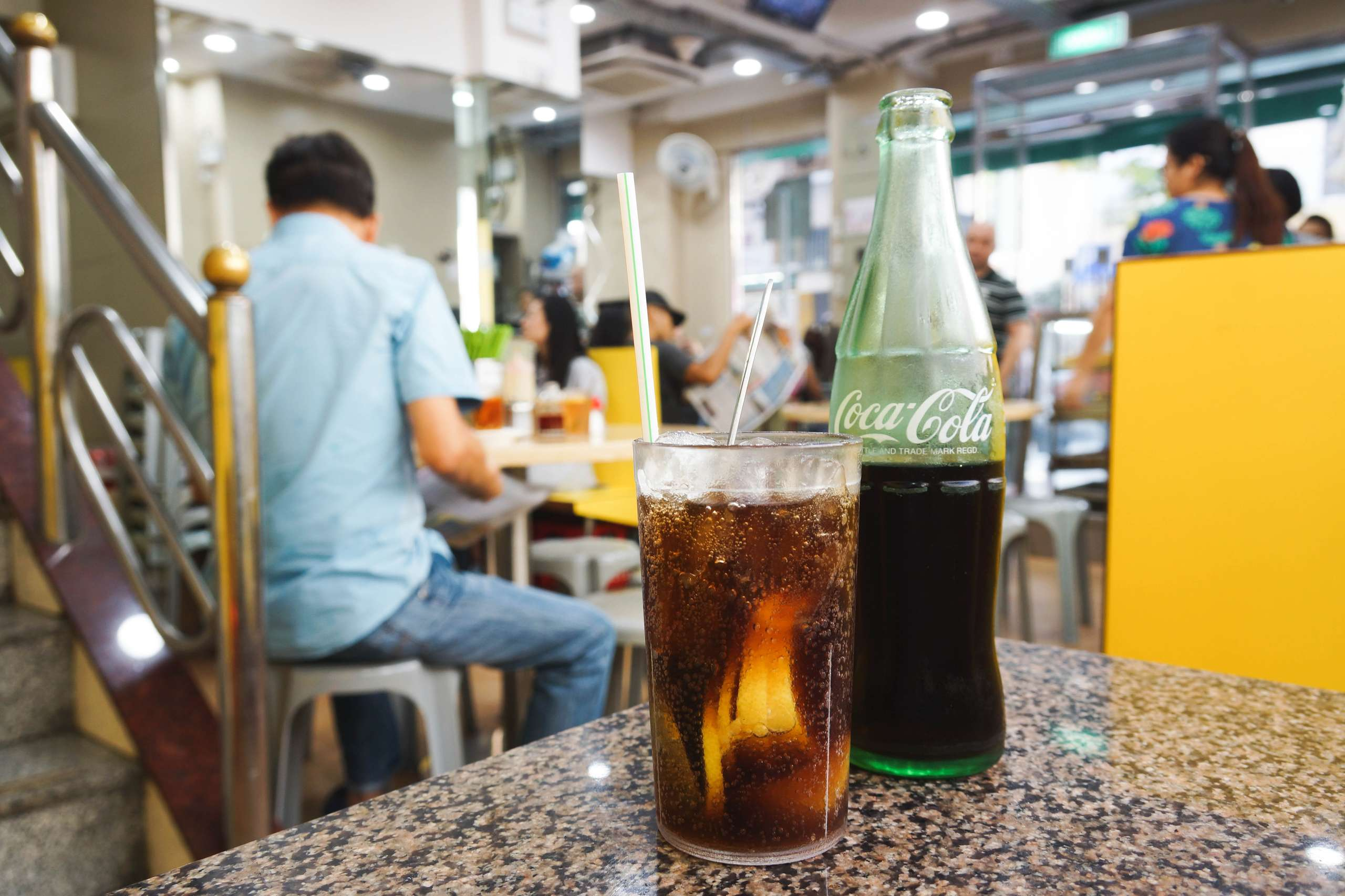 Cha Chaan Teng Macau Ice lemon coke